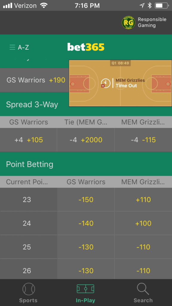 Bet365 mobile 3