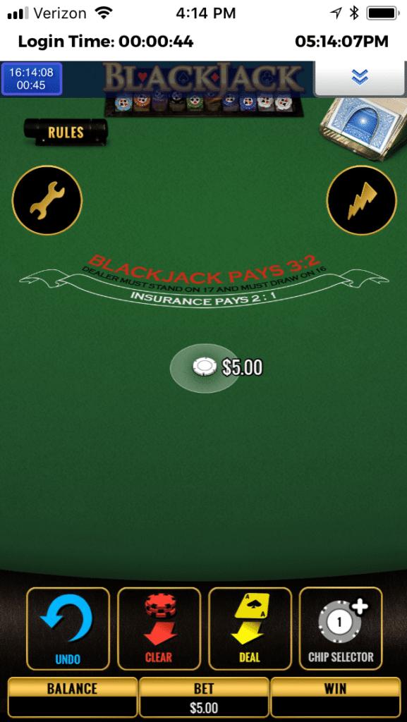 BetAmerica mobile casino 3
