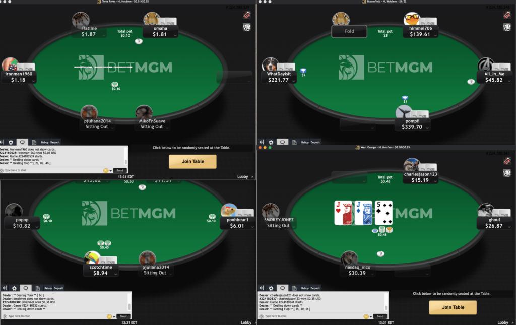 BetMGM Poker 2