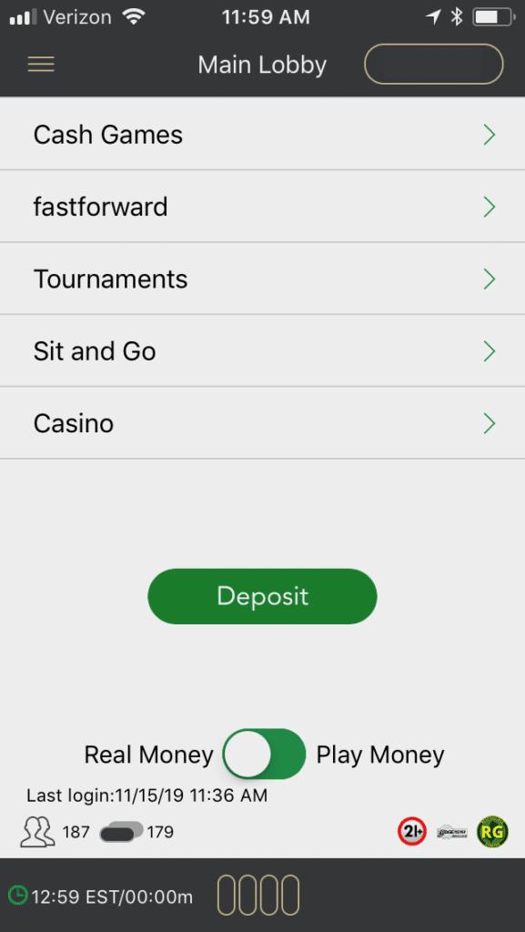 BetMGM Poker mobile 1