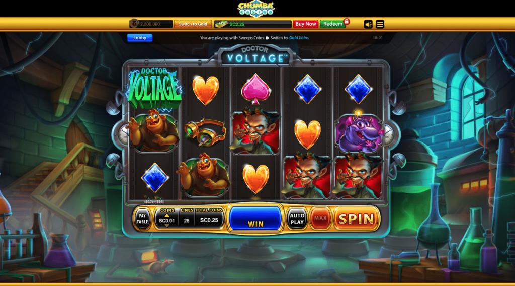 Chumba Casino slots 1