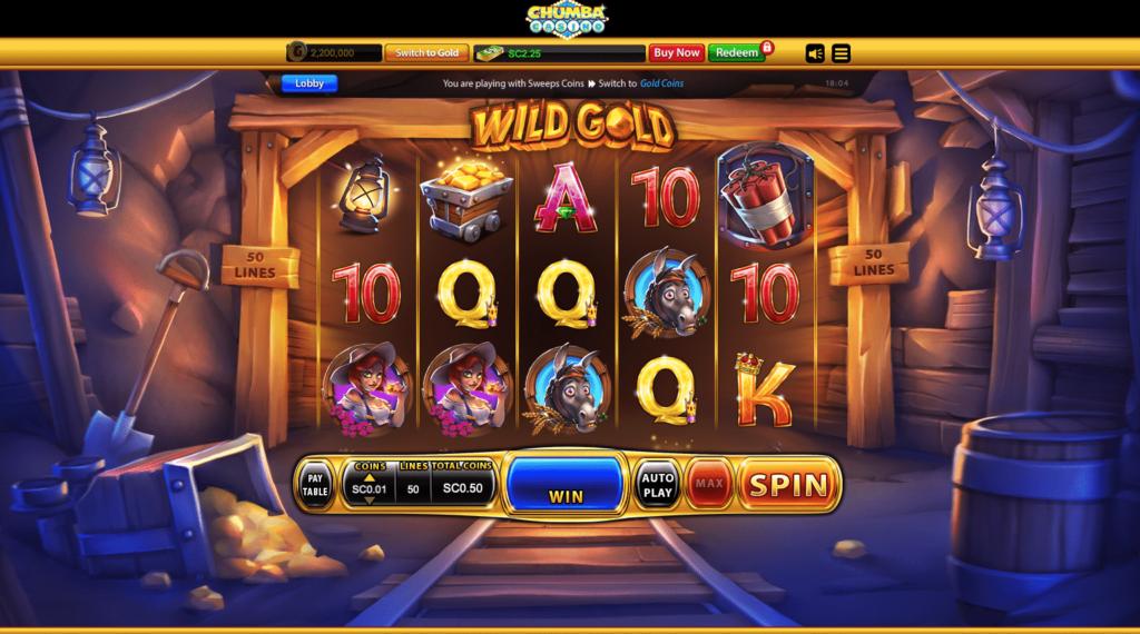 Chumba Casino slots 2