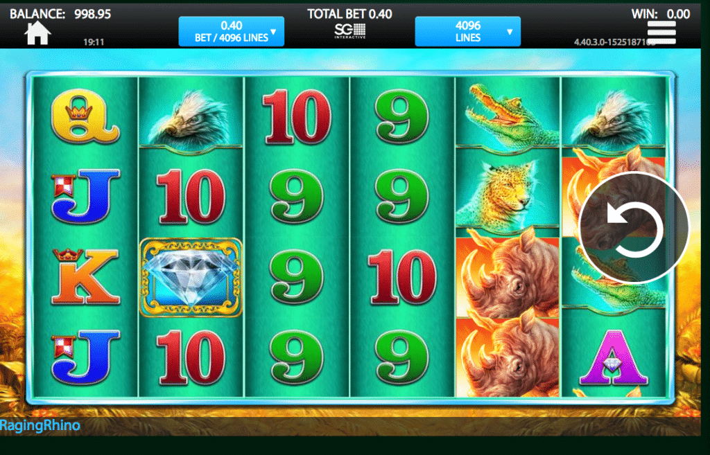 Harrahs Casino slots 1