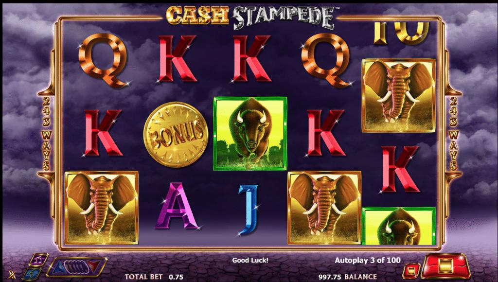 Harrahs Casino slots 3