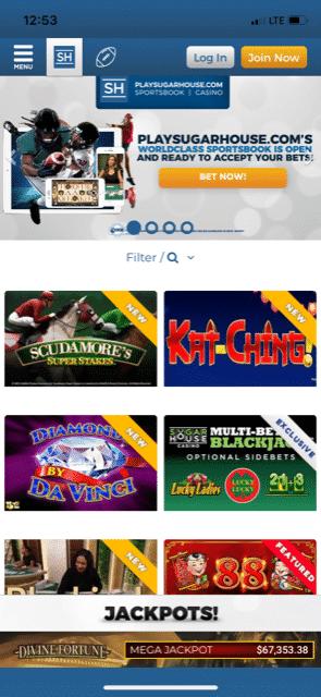 Rivers Casino mobile 1