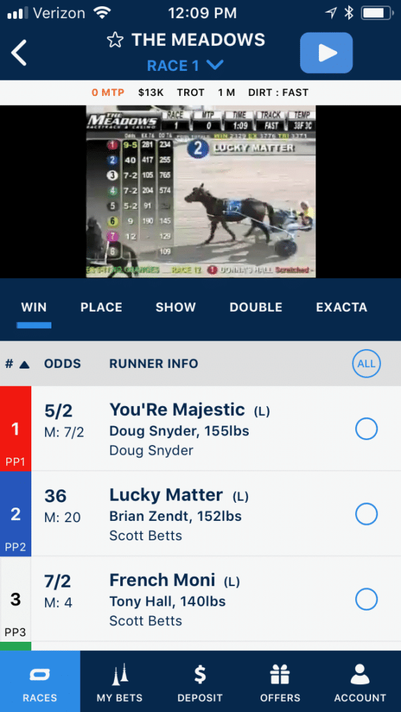 TwinSpires mobile 3